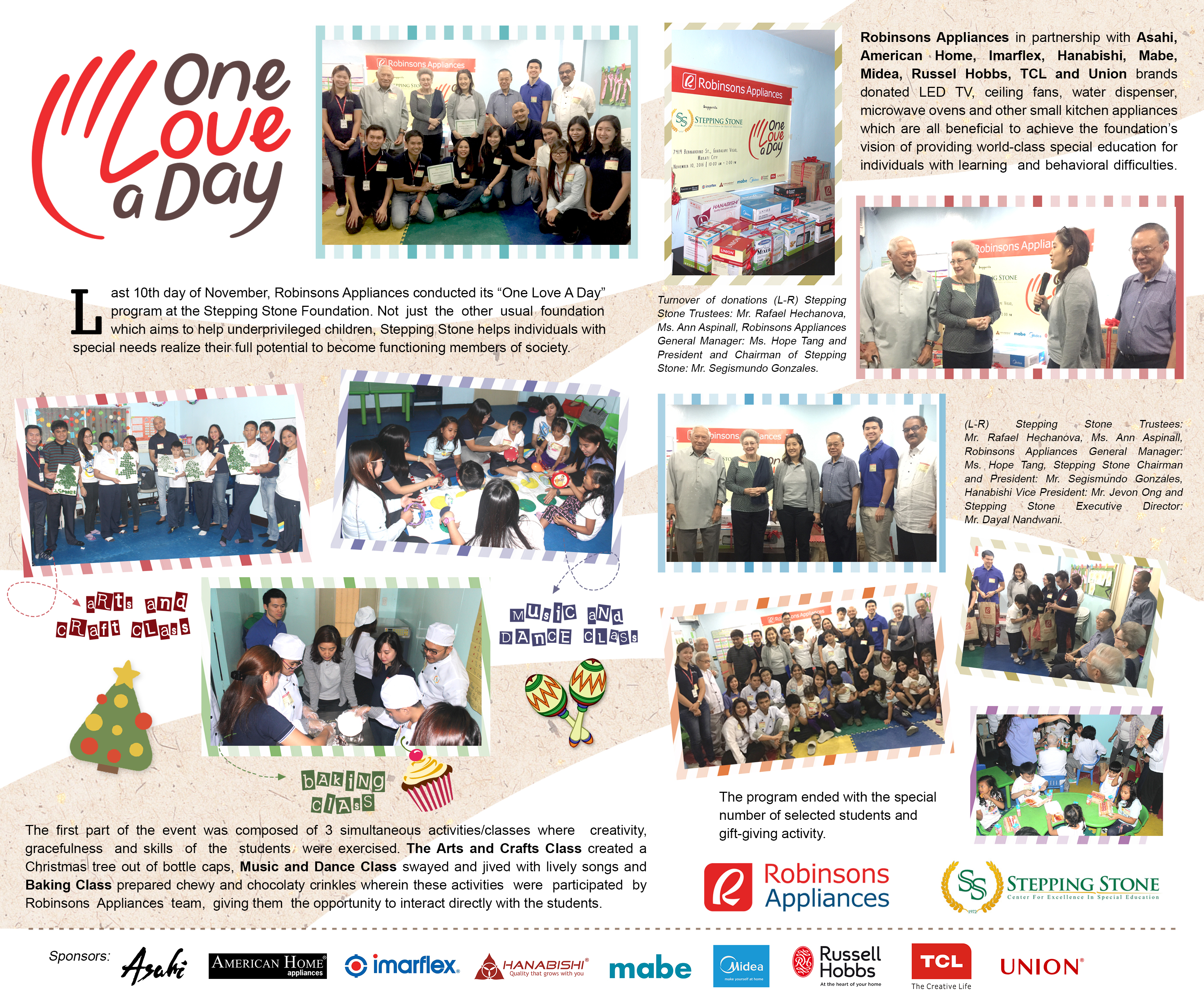 Robinsons Appliances' One Love A Day